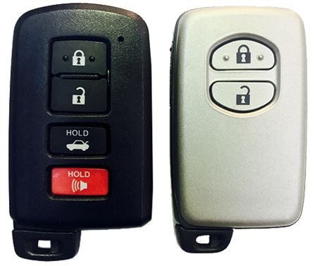 toyota car keys smart fobs